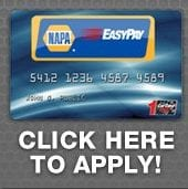 image of a credit card application - Auto repair service in Bedford PA